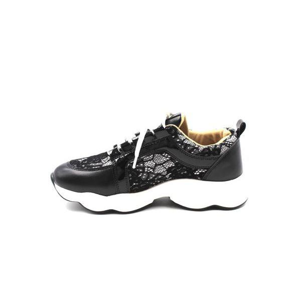 5. Women's sneakers Black Twin Set