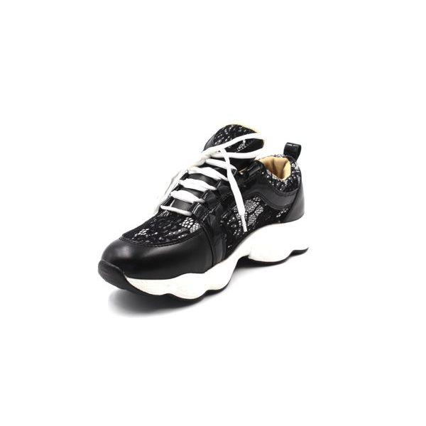3. Women's sneakers Black Twin Set