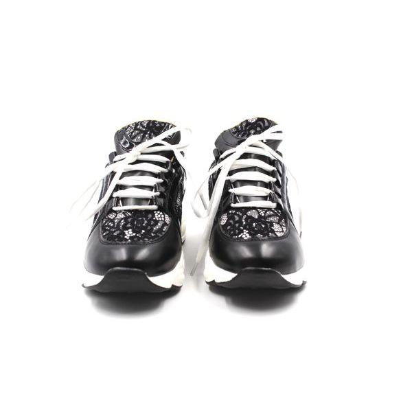 2. Women's sneakers Black Twin Set