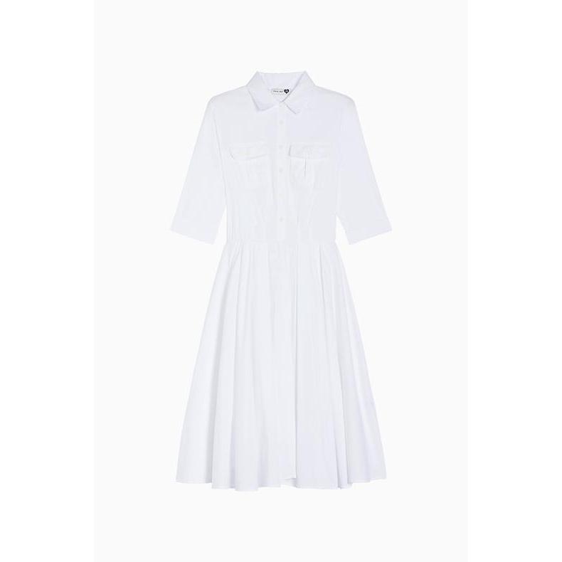 LONG SKIRT DRESS White Twin Set