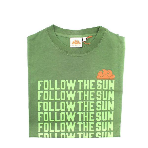1. Repeted claim t-shirt Amazon green Sundek