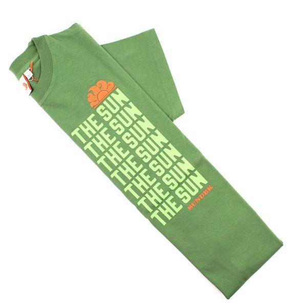 2. Repeted claim t-shirt Amazon green Sundek