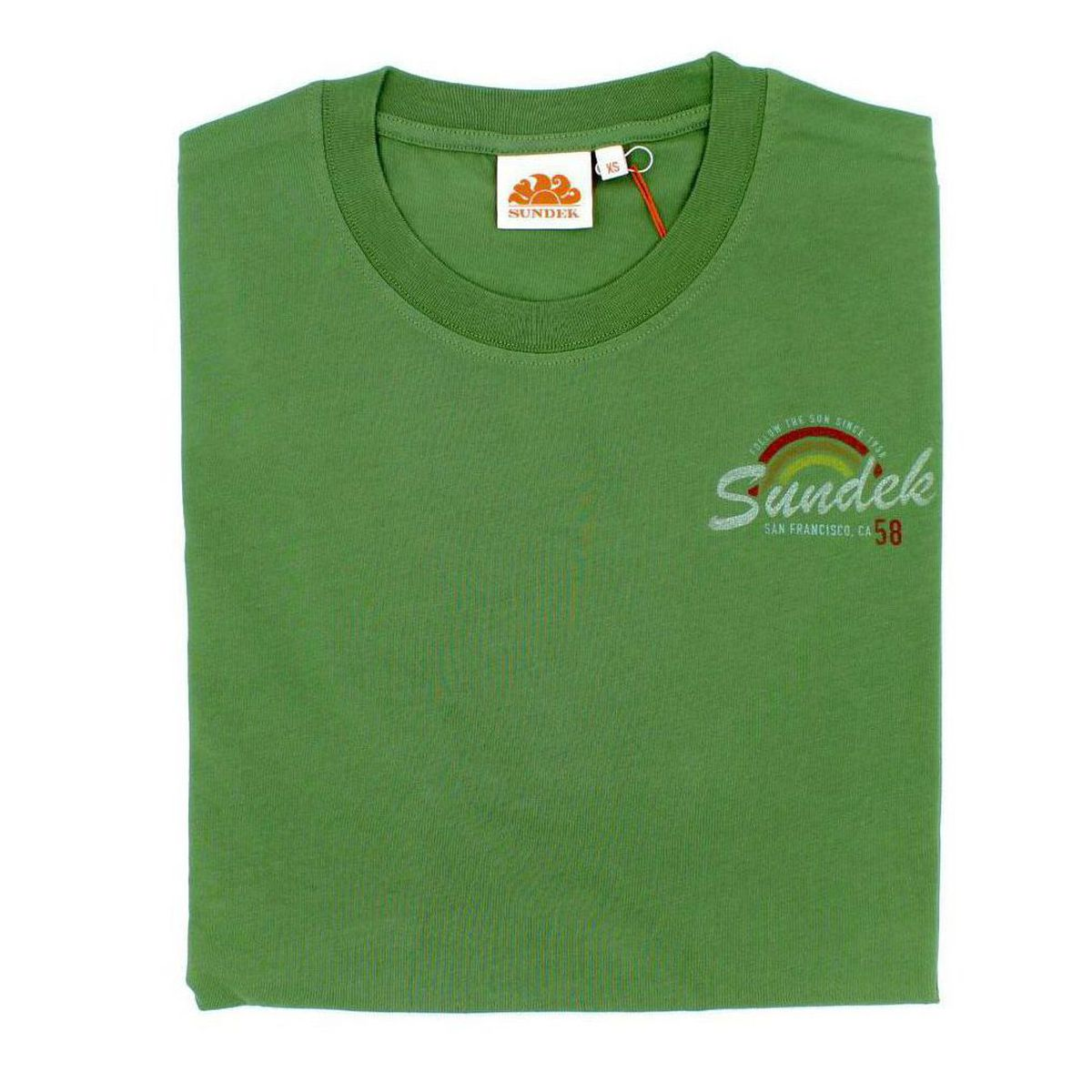 1. San Francisco rainbow t-shirt Amazon green Sundek