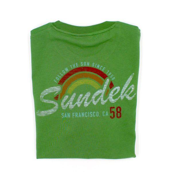 2. San Francisco rainbow t-shirt Amazon green Sundek