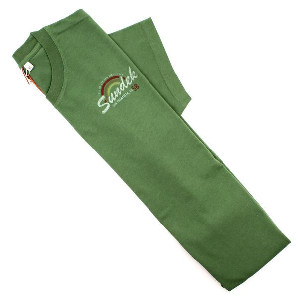 3. San Francisco rainbow t-shirt Amazon green Sundek