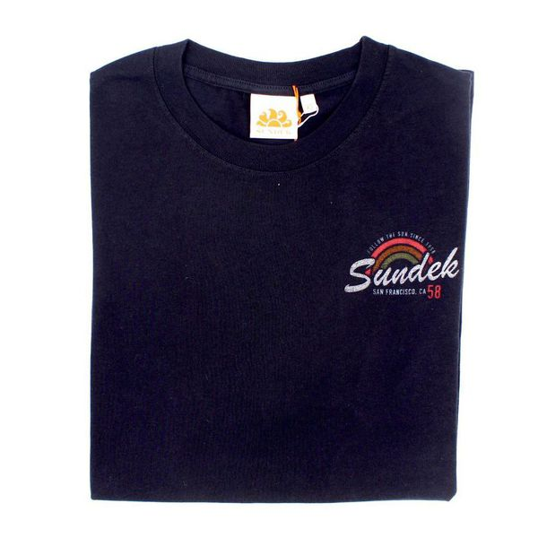1. San Francisco rainbow t-shirt Navy Sundek