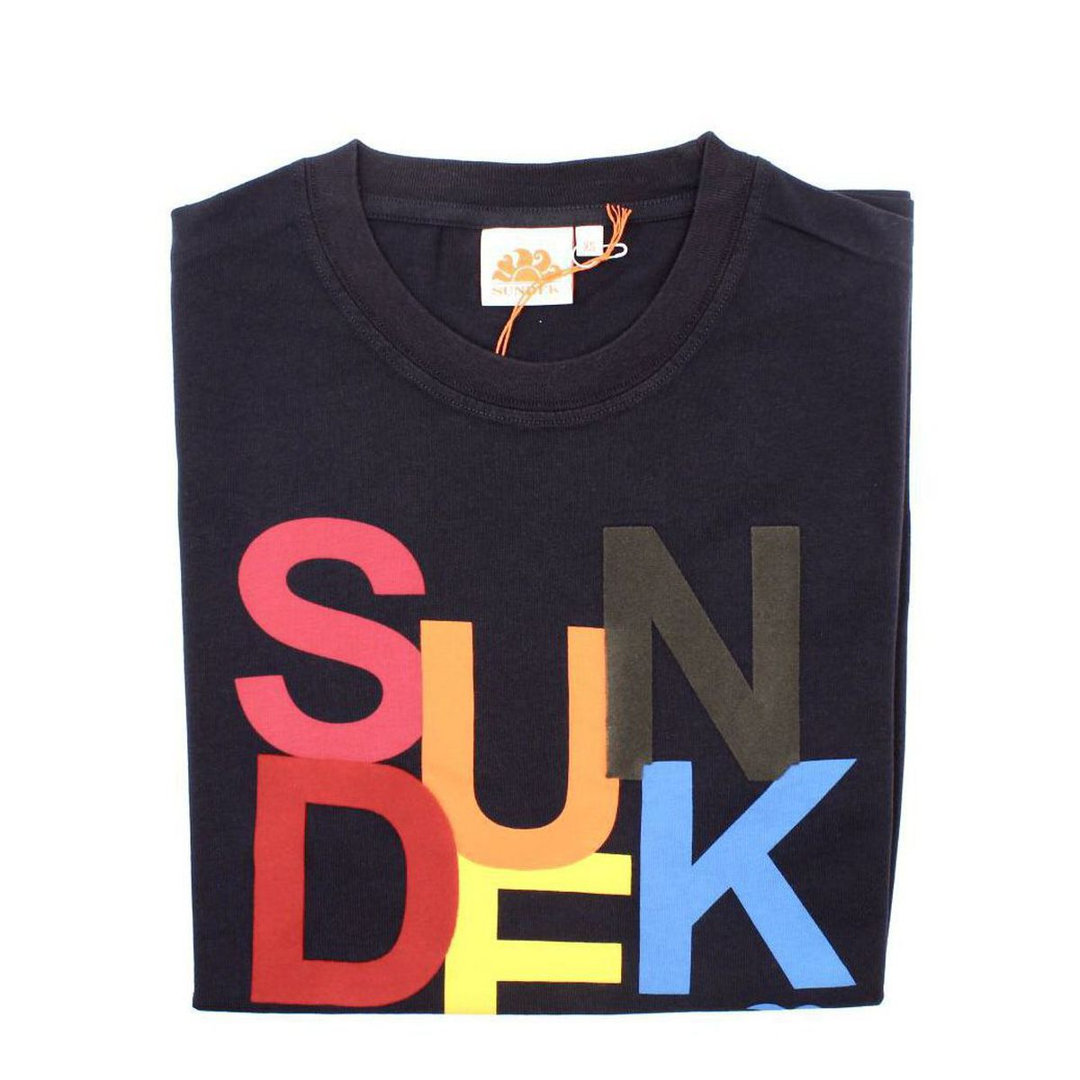 1. Sun colors t-shirt Navy Sundek