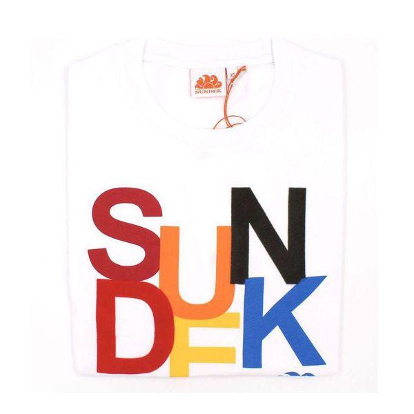 1. Sun colors t-shirt White Sundek