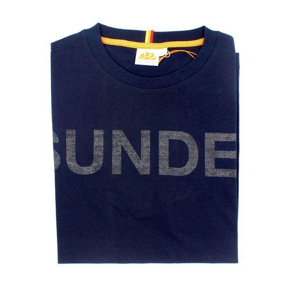 1. Philip t-shirt Navy Sundek