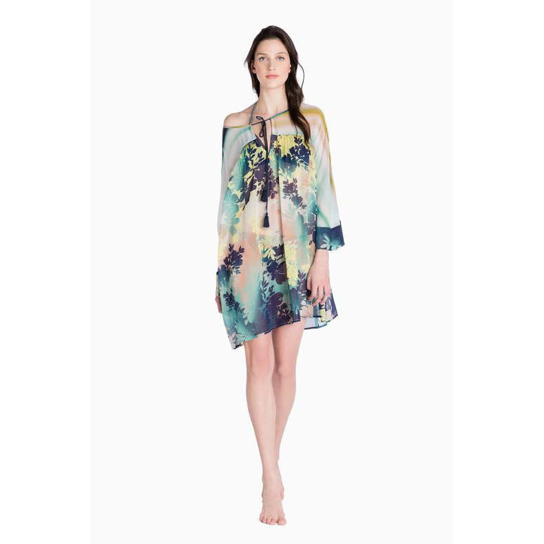 PRINT KAFTAN Blue Galassia Twin Set