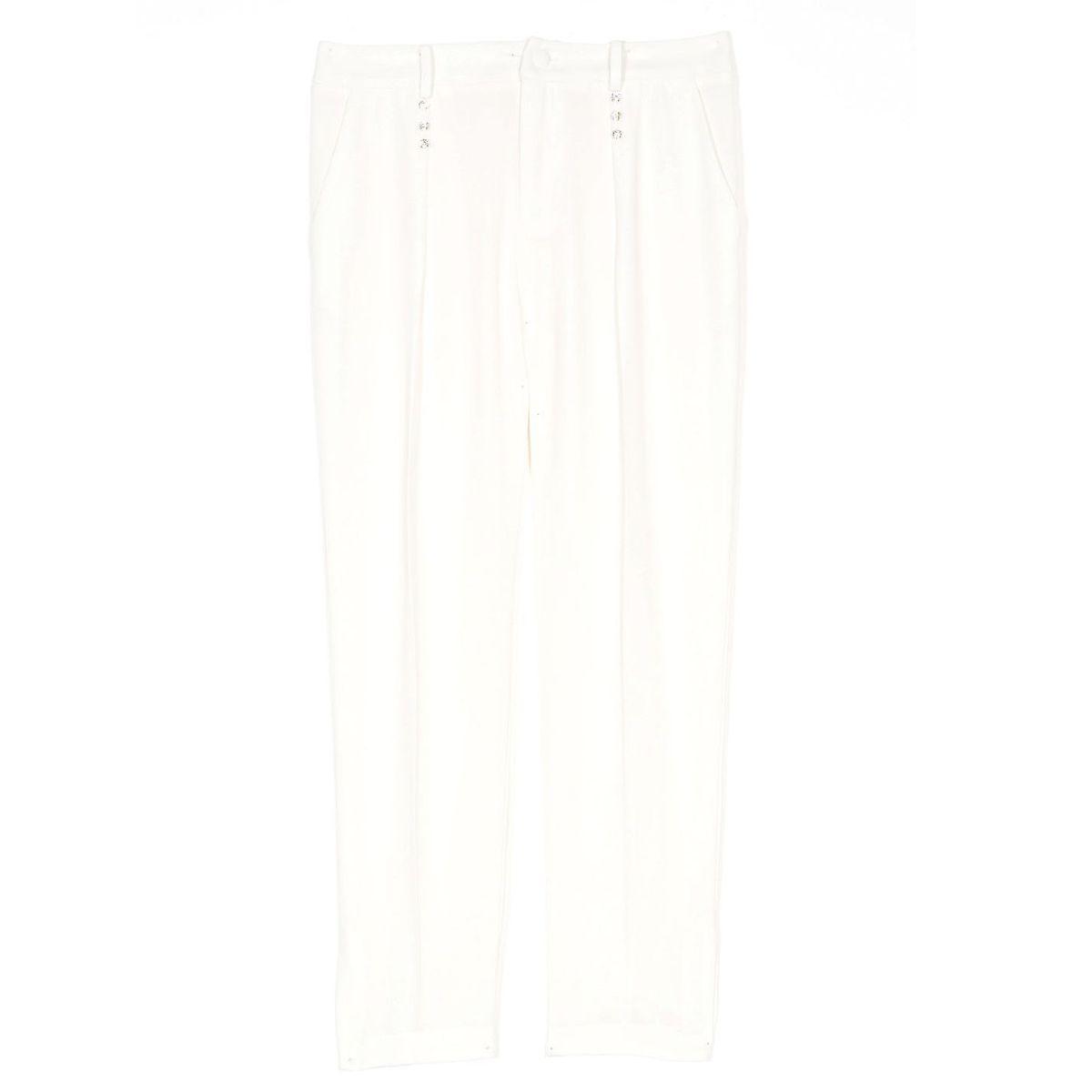 1. Swaroski trousers Ivory Twin Set