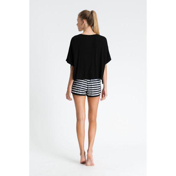 3. Fringed blouse Black Twin Set