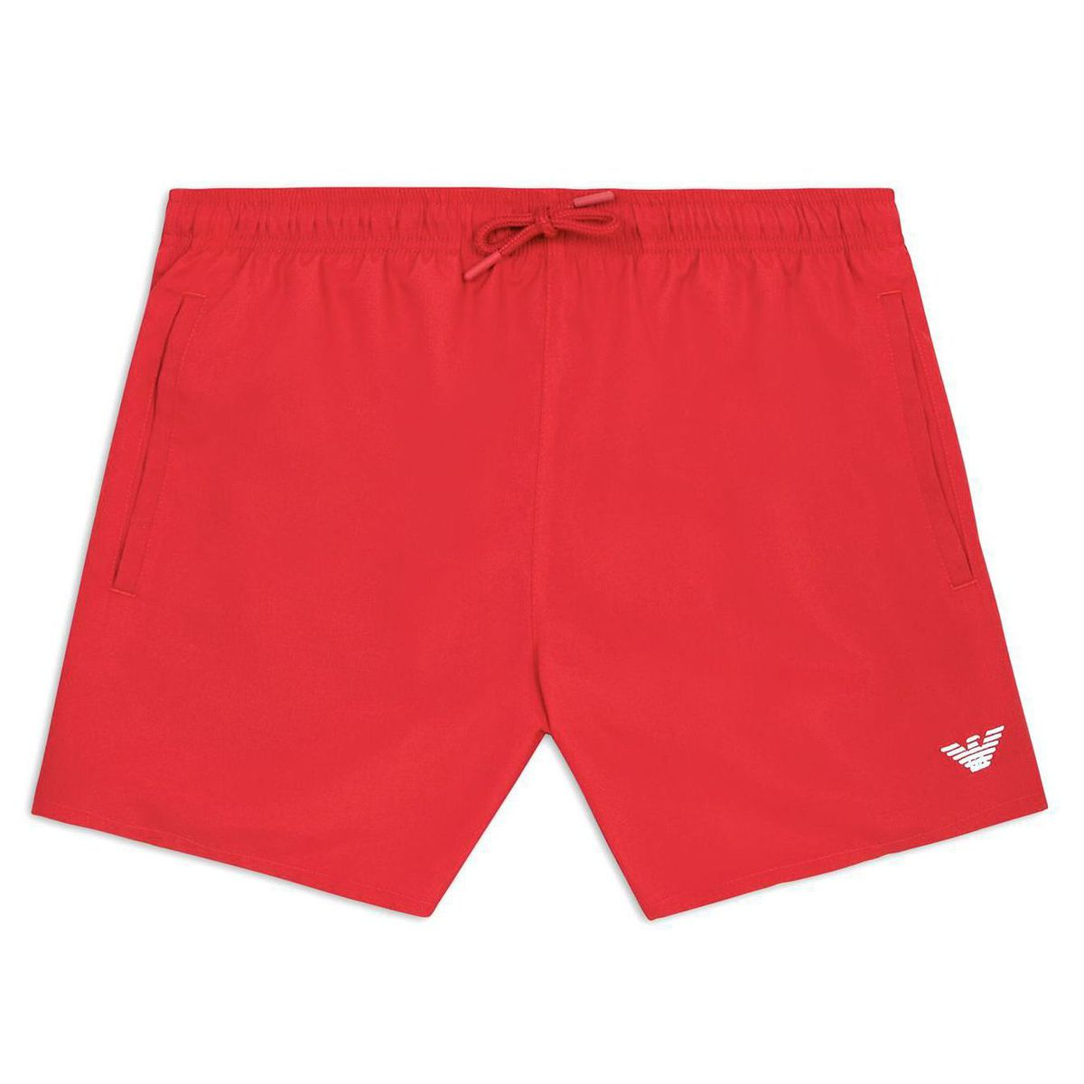 1. Mini logo shorts Red Emporio Armani