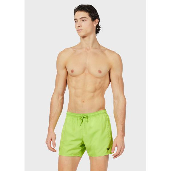 4. Mini logo shorts Green Emporio Armani