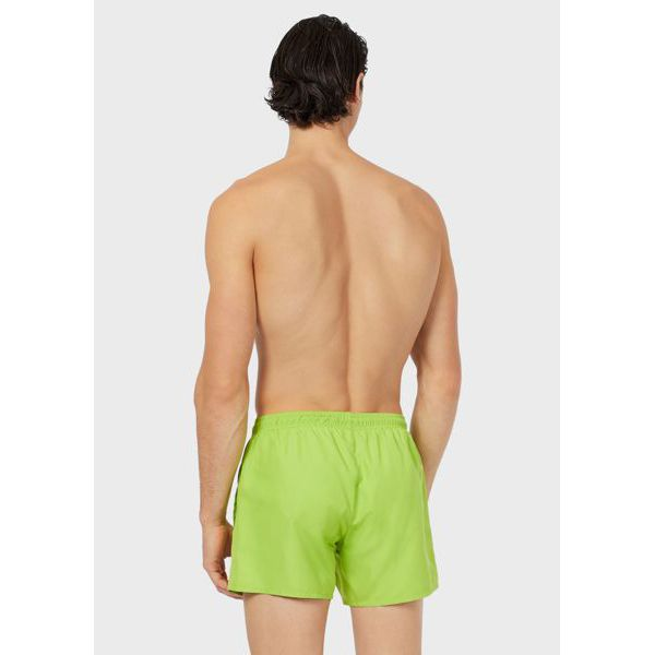 3. Mini logo shorts Green Emporio Armani