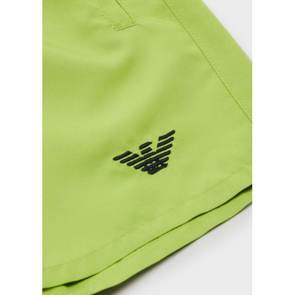 2. Mini logo shorts Green Emporio Armani