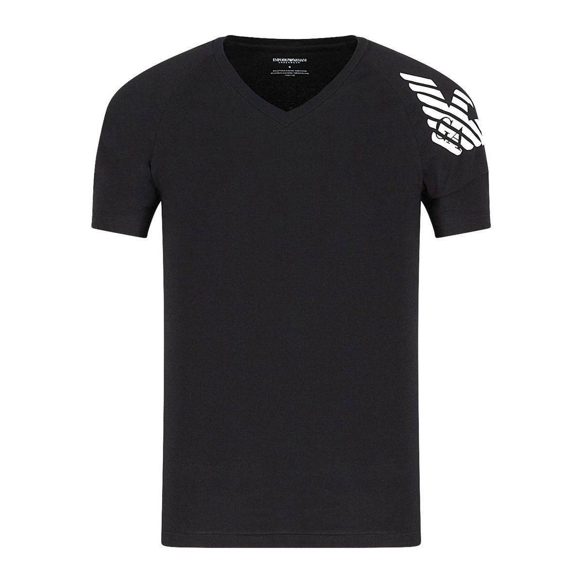 1. T-shirt V Black Emporio Armani