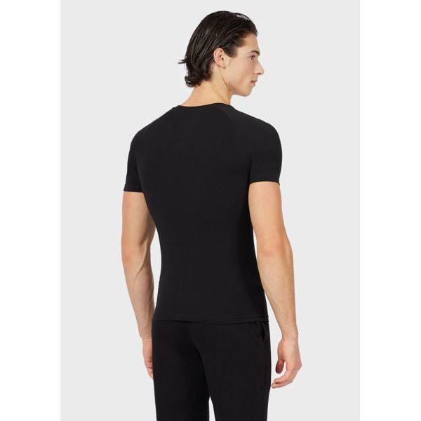 3. T-shirt V Black Emporio Armani