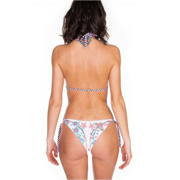 4. Sliding bikini White Pin Up