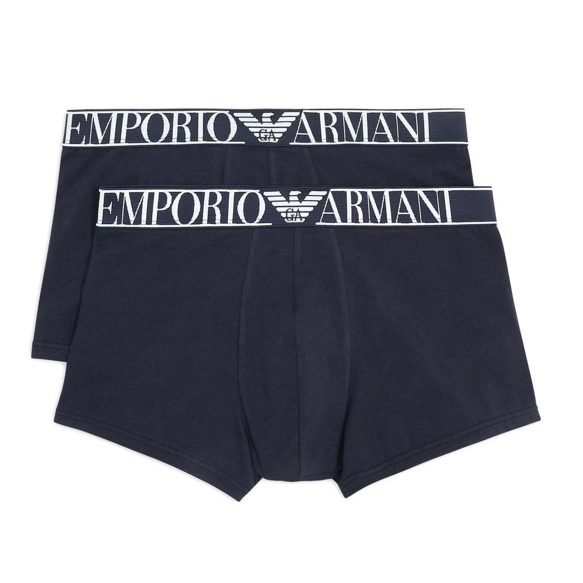 1. Bipack shorts Blue Emporio Armani