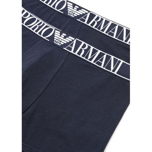 3. Bipack shorts Blue Emporio Armani