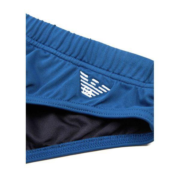 4. EA iconic swim briefs Light blue Emporio Armani