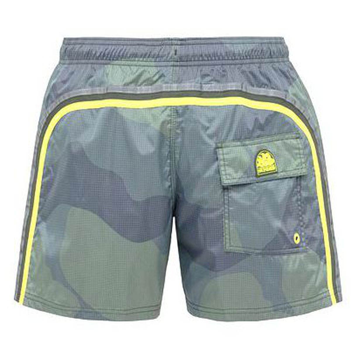 1. Camouflage shorts Dark green Sundek