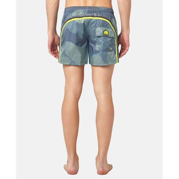 4. Camouflage shorts Dark green Sundek