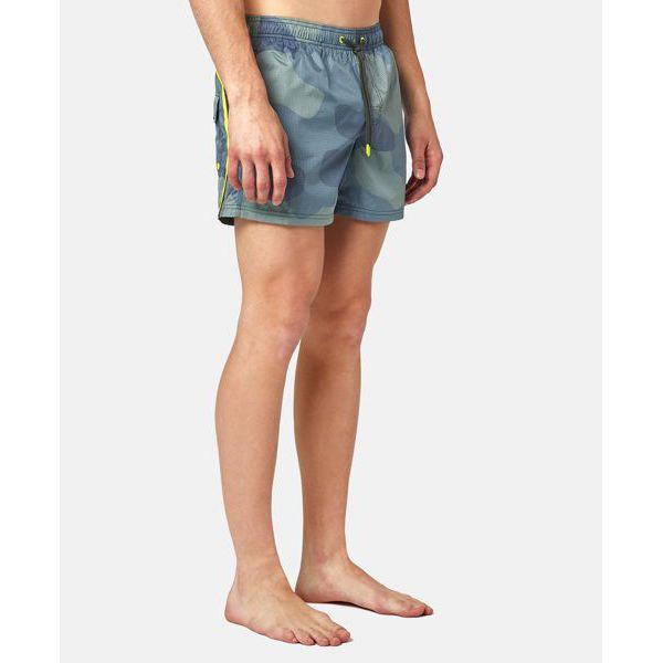3. Camouflage shorts Dark green Sundek