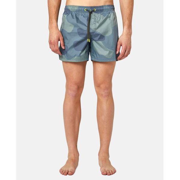 2. Camouflage shorts Dark green Sundek