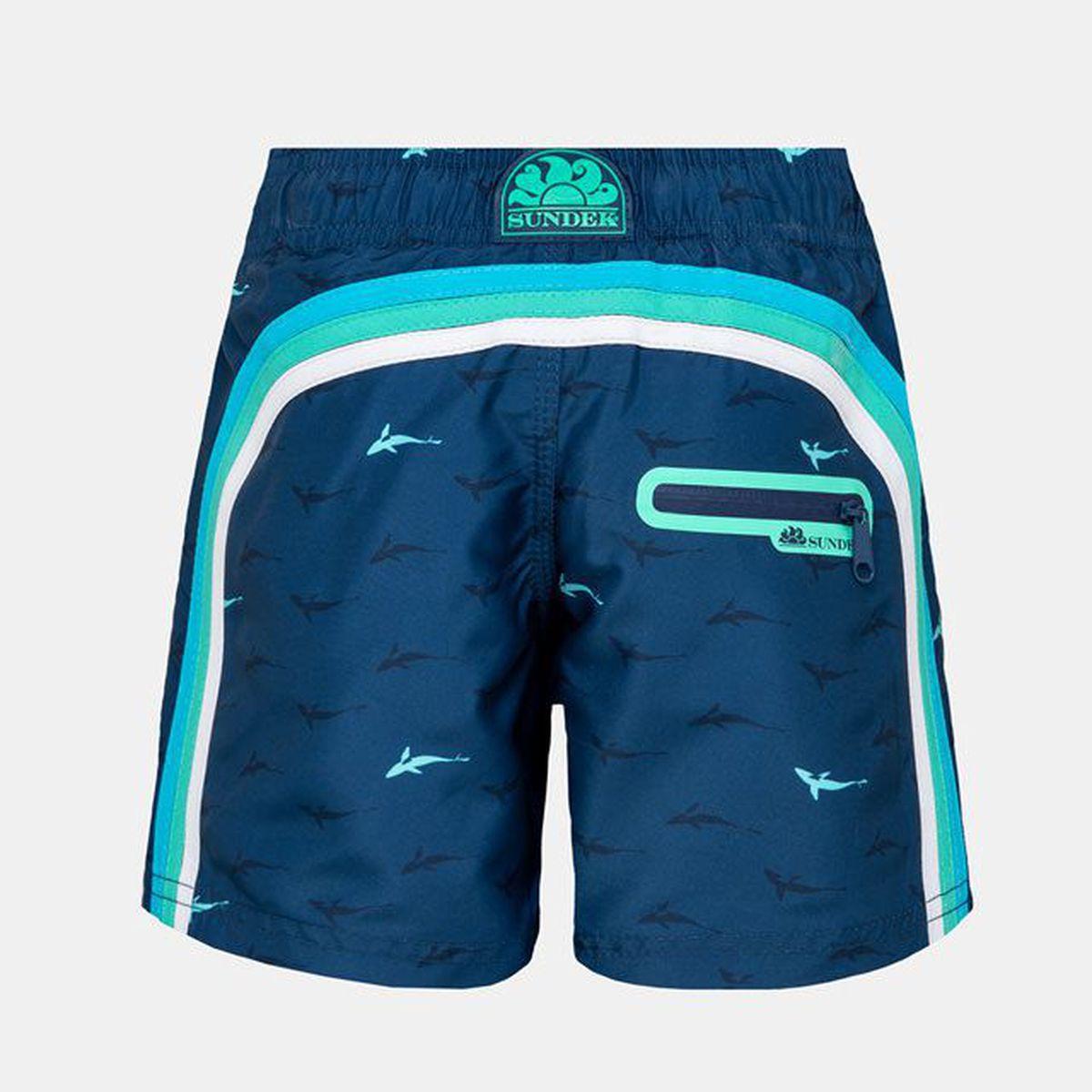 1. Sharks sea shorts 21 Light blue Sundek