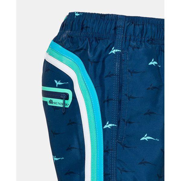 3. Sharks sea shorts 21 Light blue Sundek