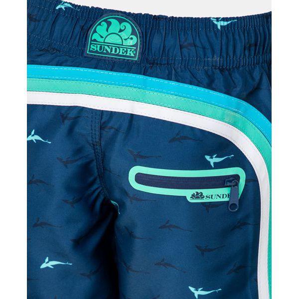 4. Sharks sea shorts 21 Light blue Sundek