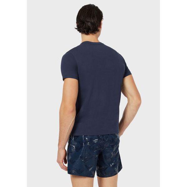2. Maxi logo t-shirt Blue Emporio Armani
