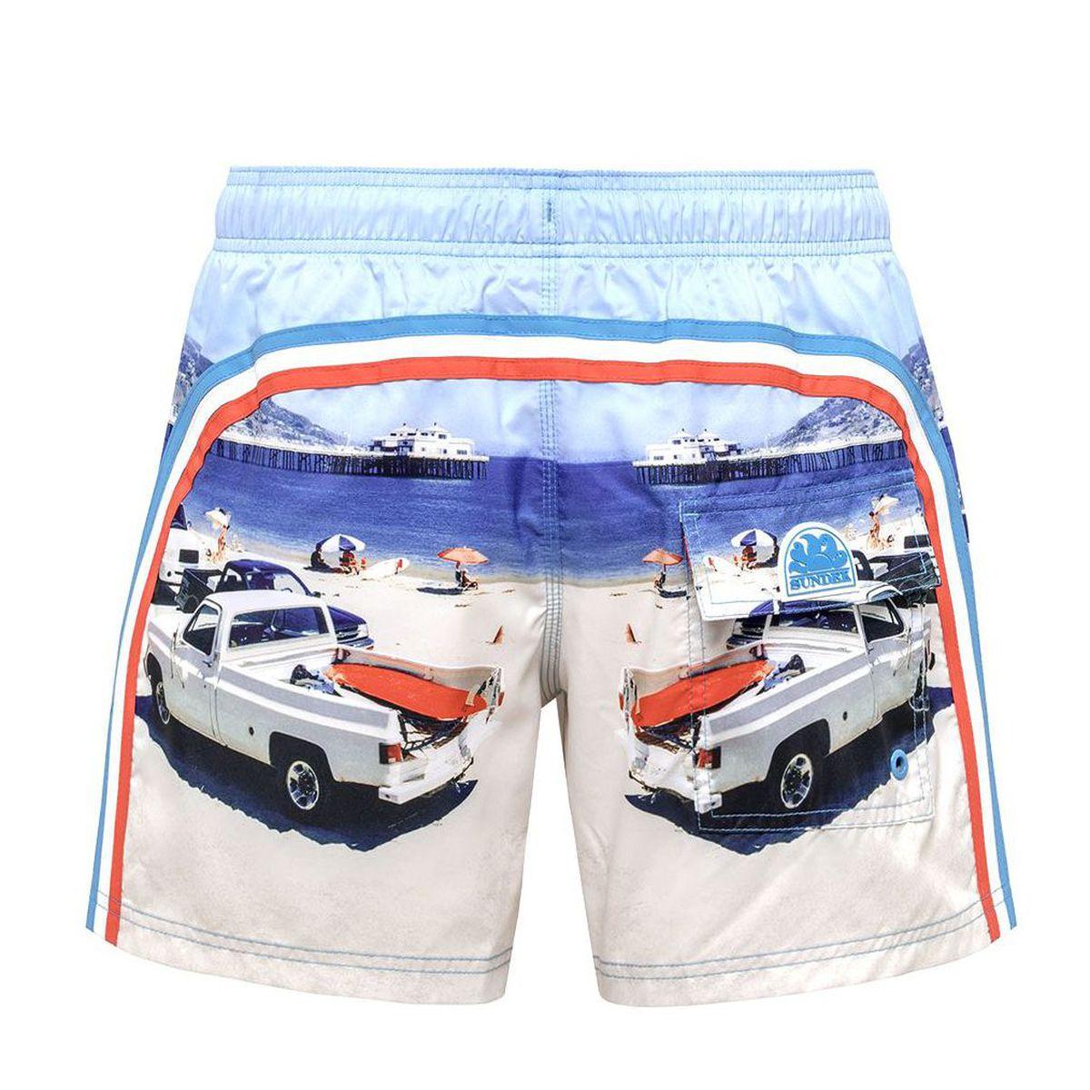 1. Malibú Pier shorts Fantasy Sundek