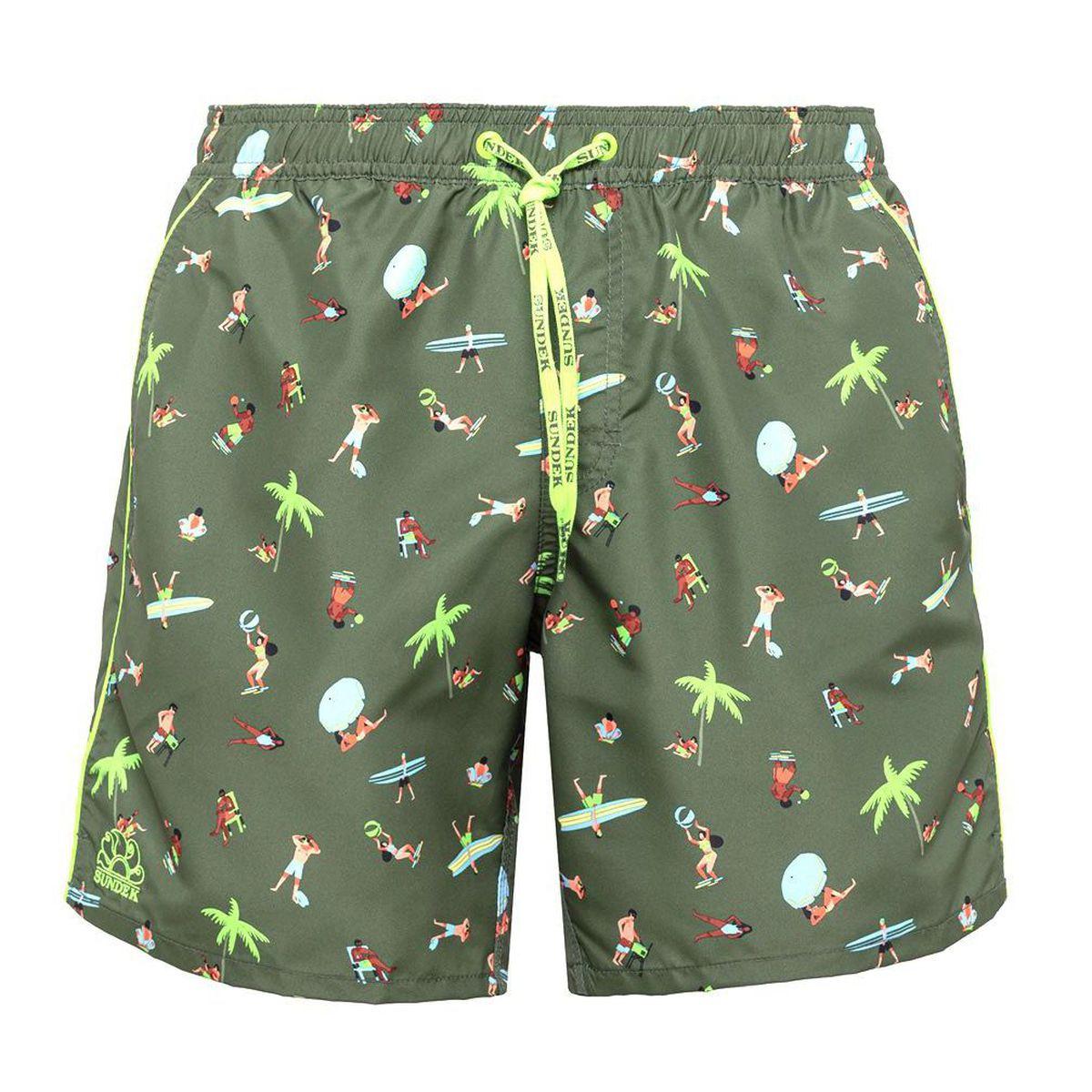 1. Fantasy shorts Green Sundek