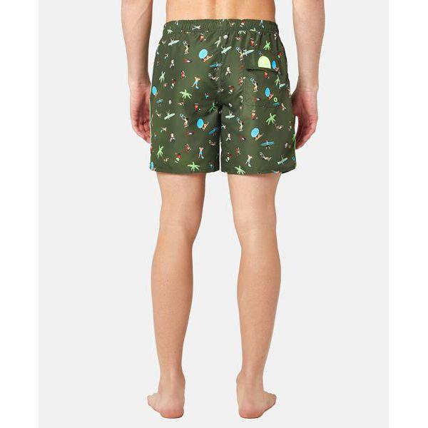 2. Fantasy shorts Green Sundek