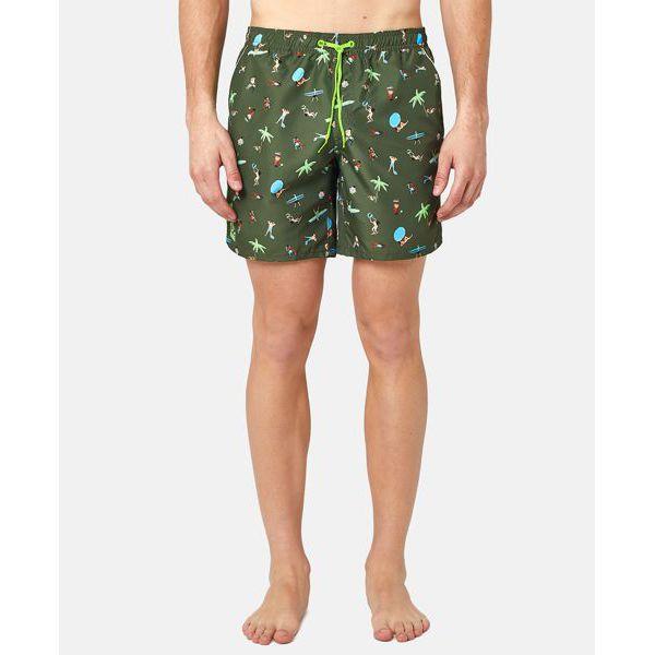3. Fantasy shorts Green Sundek