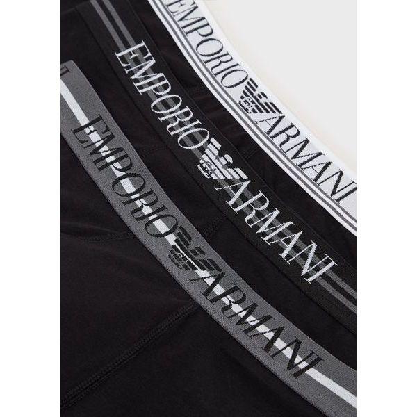 3. Boxer logo Black Emporio Armani