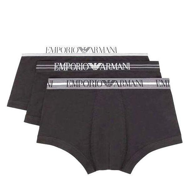1. Boxer logo Black Emporio Armani